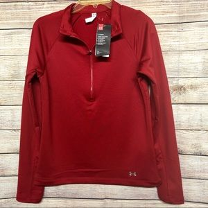 Under Armour Coldgear Red Women's Jacket